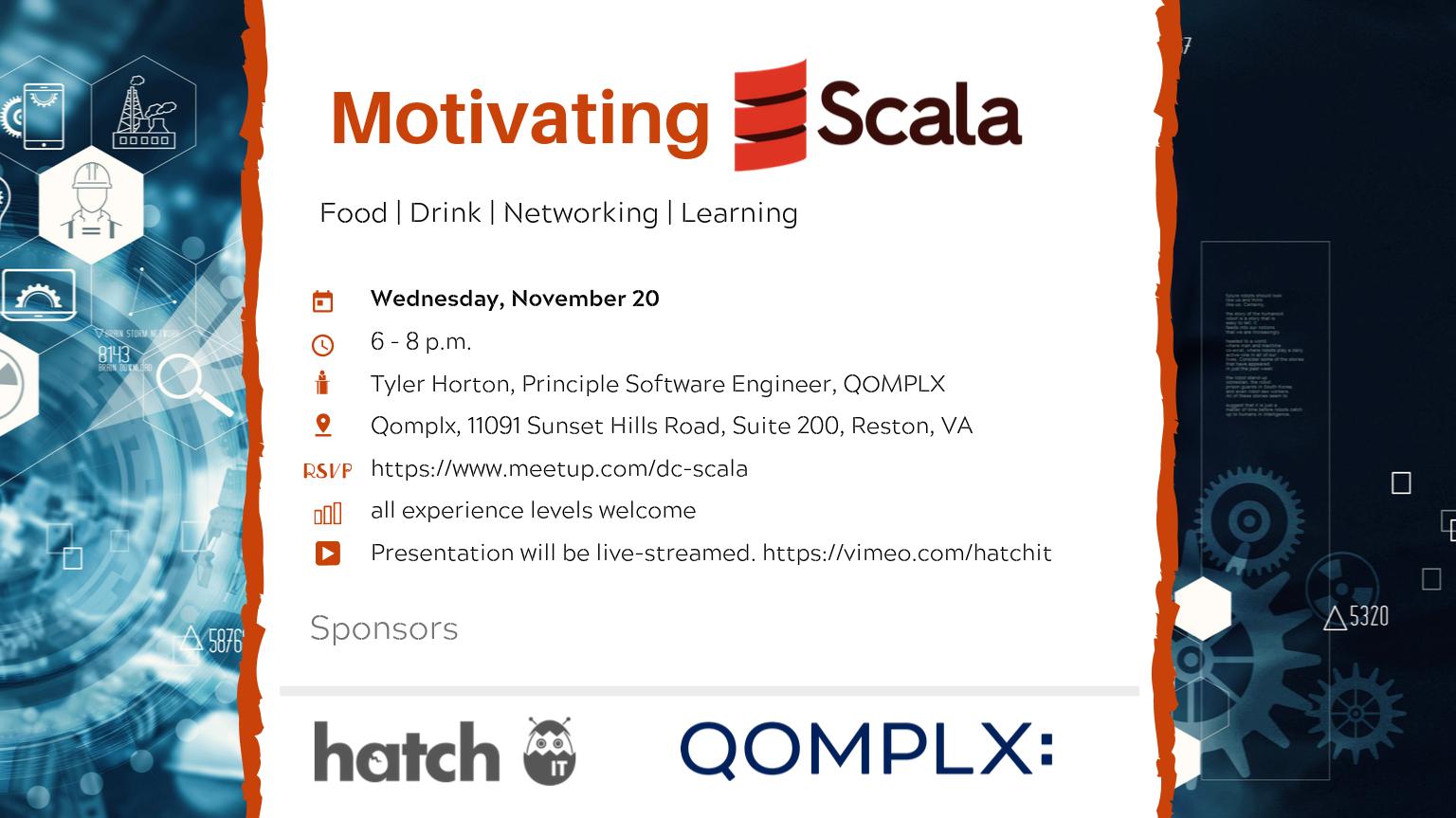 Motivating Scala